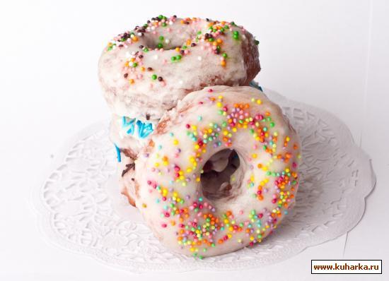 Рецепт Донаты / Doughnut