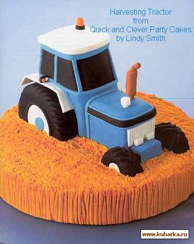 торт в виде трактора фото для парня драки