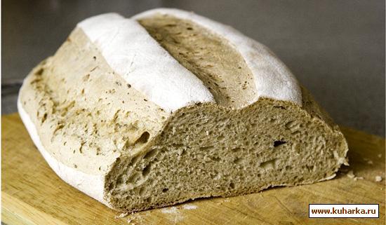 Рецепт Светлый ржаной хлеб (бездрожжевой)