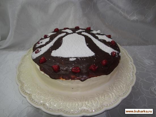 Рецепт Нежный шоколадный торт