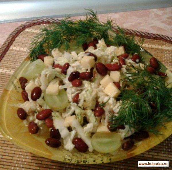 Украинский салат рецепт с