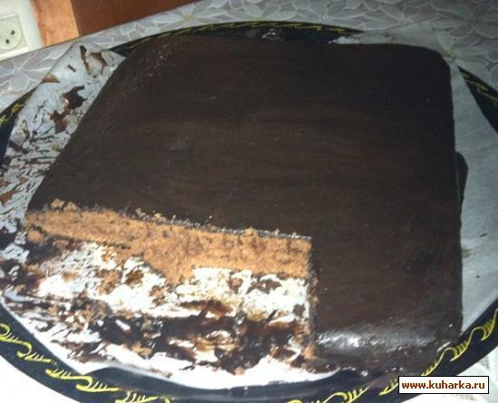 Рецепт Торт шоколадный семейный