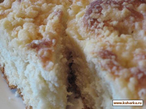 Рецепт Немецкий Штрейзельный пирог