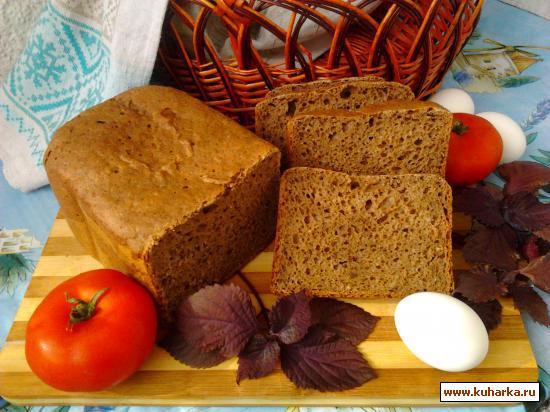 Рецепт Пшенично-ржаной хлеб на пиве с кориандром.