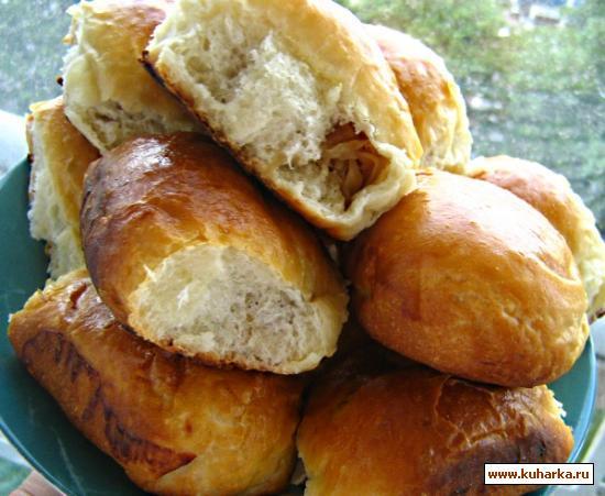 Рецепт Пирожки печеные и жареные