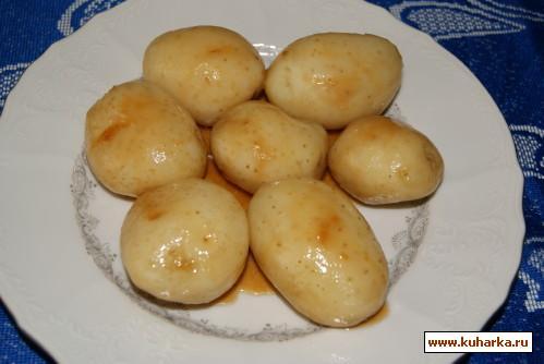 Рецепт Глазированный молодой картофель