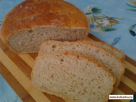 Рецепт Хлеб на гречневой муке с мёдом.