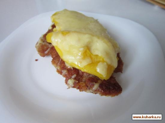Рецепт Отбивные из свинины с манго.