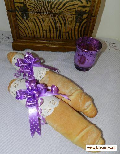 Рецепт Слоеный хлеб (Pan de hojaldre)