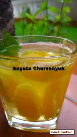 Рецепт Апельсиновый компот.