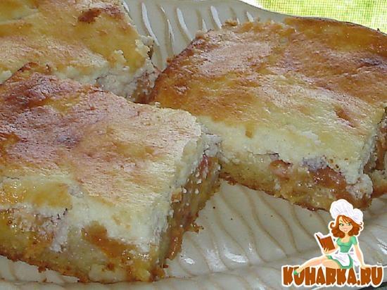 Рецепт Фруктово-творожный пирог