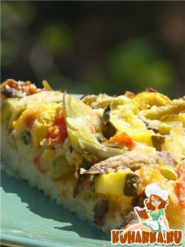 Рецепт Летний овощной тарт