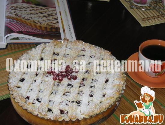 Рецепт Тигранин пирог с ягодами