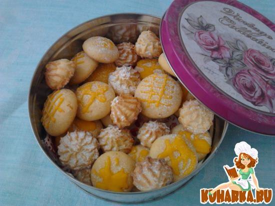 Рецепт Итальянское апельсиновое печенье.