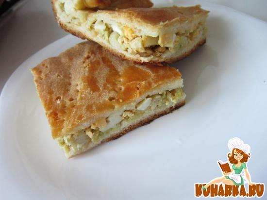 Рецепт Капустный пирог от Татьяны Толстой