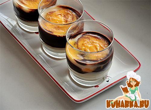 Рецепт Десерт с облепиховым крем-курдом
