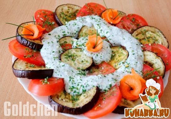 """Рецепт Салат-закуска """"Жених и невеста"""""""