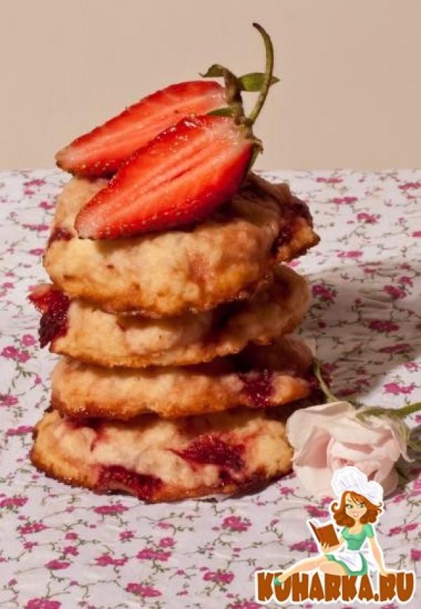 печенье с клубникой рецепт