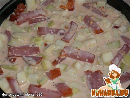 Рецепт Кабачки в сливочном соусе