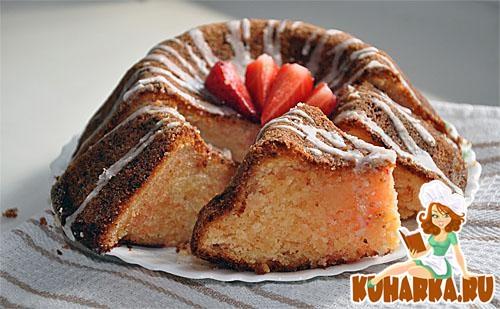 Рецепт Пирог с порошком желе