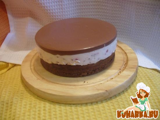 Рецепт Торт шоколадно-клубничный