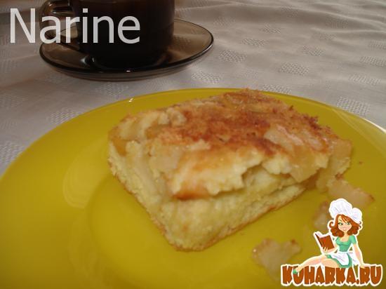 Рецепт Фруктовый пирог-шарлотка