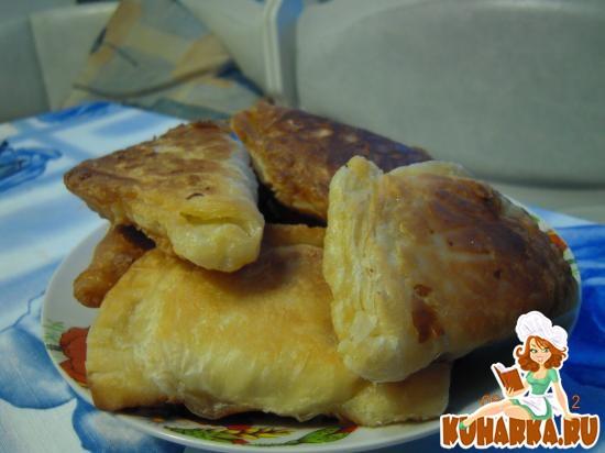 Рецепт Жареные слоёные пирожки