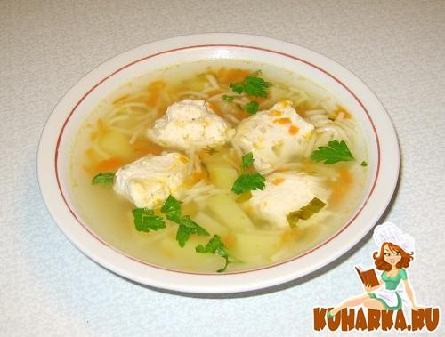 суп с фрикадельками куриный фарш рецепты