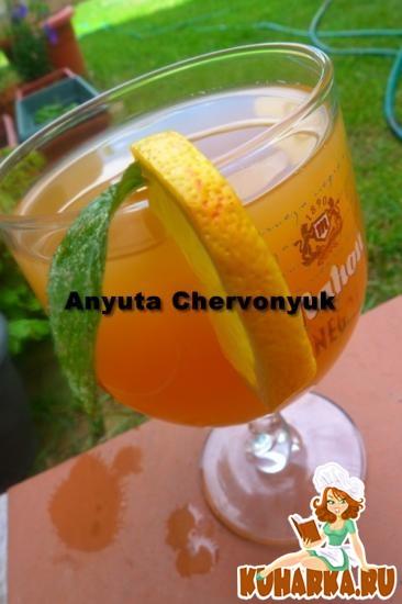 Рецепт Холодный апельсиновый чай.