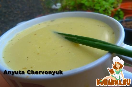 Рецепт Суп-крем из чечевицы.