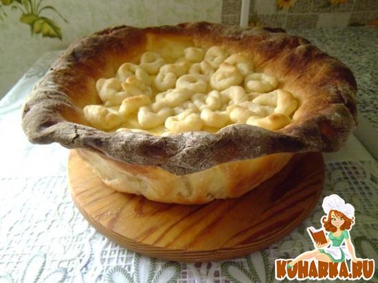 """Рецепт Пирог """"сыр в масле""""."""