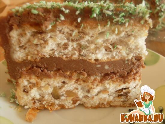 Корж киевский торт рецепт