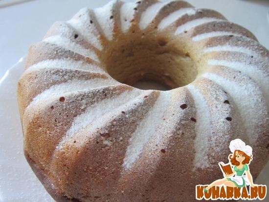 Рецепт Кекс с яблочным пюре