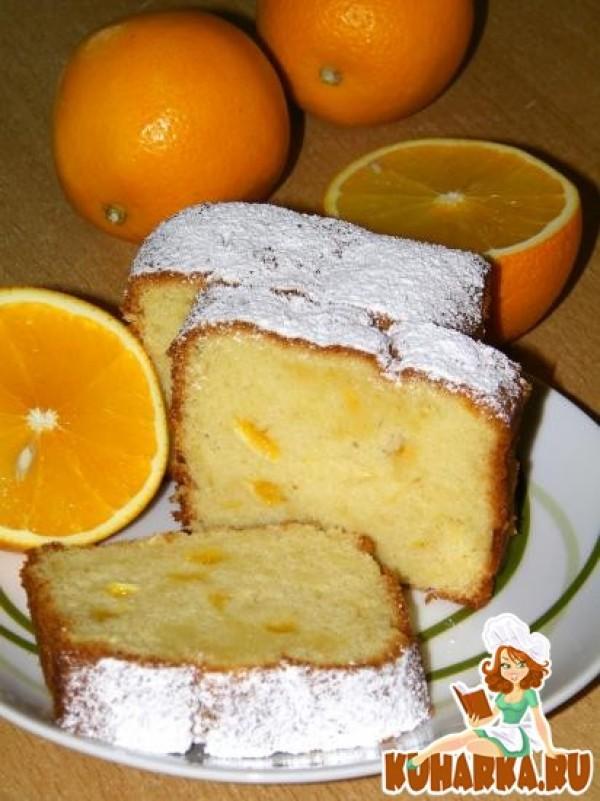 рецепт пирога из жима от апельсина и лимона