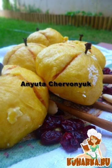 Рецепт Тыквенные китайские булочки на пару.