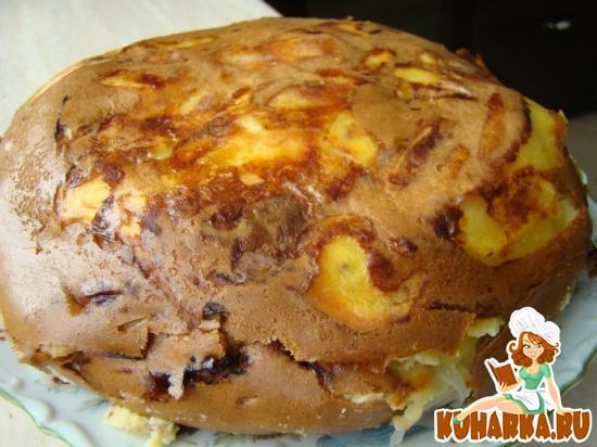 Рецепт Быстрый заливной пирог