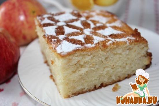 Рецепт Яблочный манник