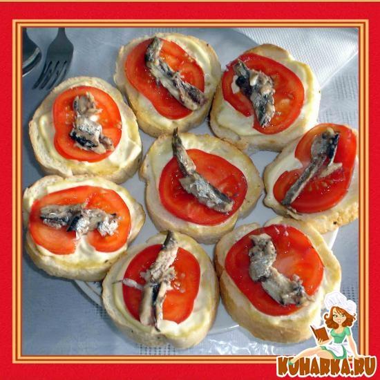 Рецепт Закусочный бутерброд