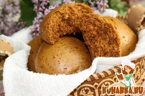 Рецепт Медовые пряники с грецкими орехами на пару.