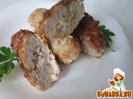 Рецепт Мясные палочки с сюрпризом