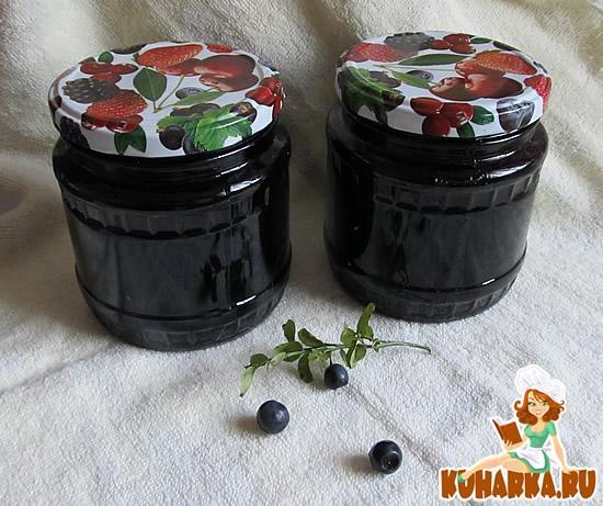 Рецепт Варенье-пятиминутка из черники