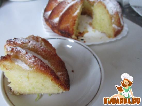 Рецепт Кекс с кабачком