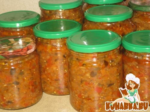 Рецепты по приготовлению баклажанной икры с фото