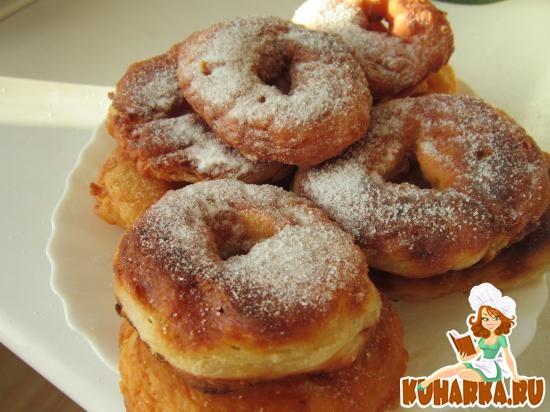 Рецепт Пончики с творогом