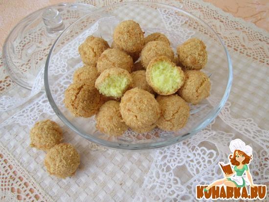 Рецепт Кокосовые шарики.