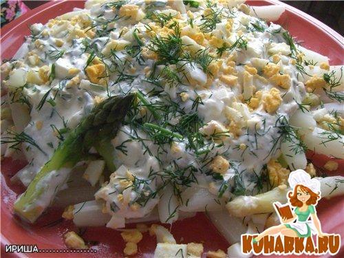 Салат белоснежка с фото