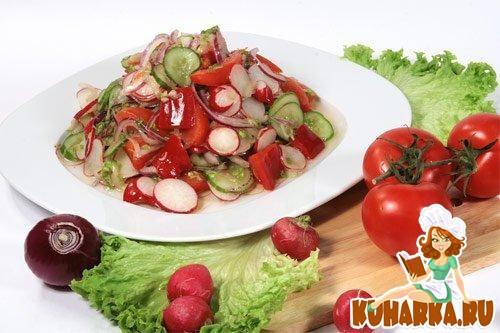 салаты летом простые и вкусные рецепты фото