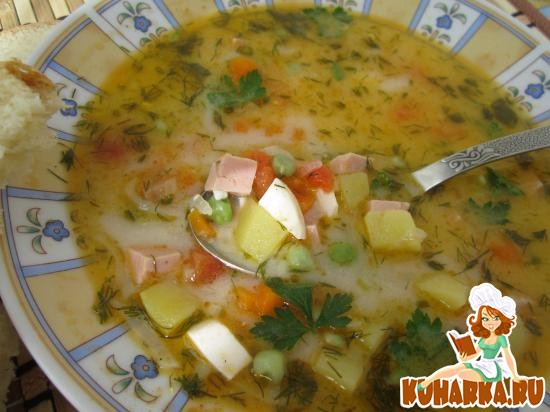Рецепт Китайский суп.
