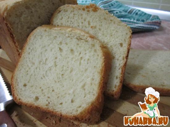 Рецепт Медово-горчичный хлеб на кефире.
