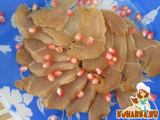 Рецепт Вяленые куриные грудки.